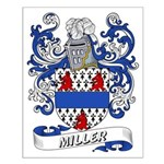 Miller Coat of Arms Small Poster