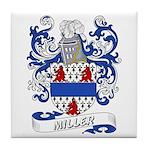Miller Coat of Arms Tile Coaster