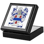 Miller Coat of Arms Keepsake Box
