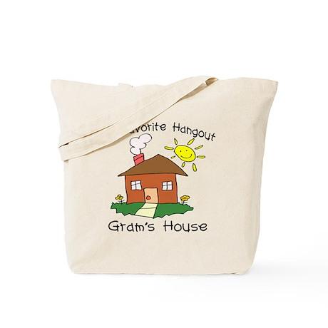 Favorite Hangout Gram's House Tote Bag