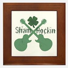 Shamrockin' Framed Tile