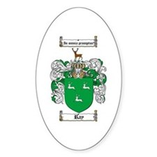 Ray Family Crest Oval Decal