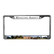 Cute Abbey License Plate Frame