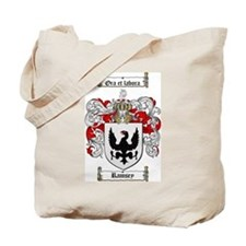 Ramsey Family Crest Tote Bag