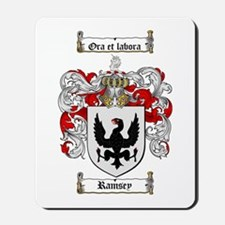 Ramsey Family Crest Mousepad