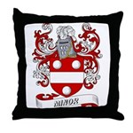 Minor Coat of Arms Throw Pillow