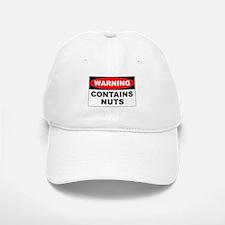 Contains Nuts Baseball Baseball Cap