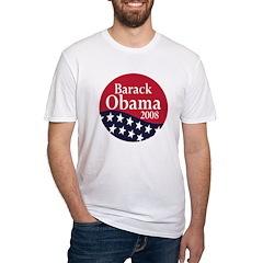 Barack Obama 2008 (Fitted Political T-Shirt)
