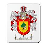 Ramirez Family Crest Mousepad