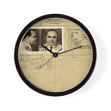 Al Capone! Wall Clock