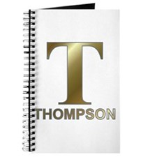 Gold T for Fred Thompson Journal