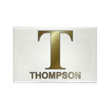 Gold T for Fred Thompson Rectangle Magnet