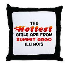 Hot Girls: Summit Argo, IL Throw Pillow