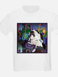 Cat Scorpio T-Shirt