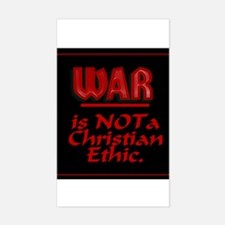 UnChristian Rectangle Decal