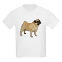 Pug Dog for Pugs Lovers Kids T-Shirt