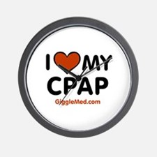 CPAP Love Wall Clock