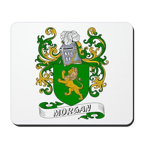Morgan Coat of Arms Mousepad