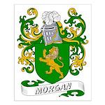 Morgan Coat of Arms Small Poster