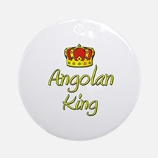 Angolan King Ornament (Round)