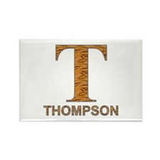 Tiger Striped T for Fred Thompson Rectangle Magnet
