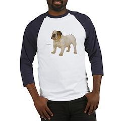 Bulldog Dog Baseball Jersey