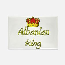Albanian King Rectangle Magnet