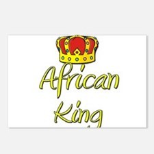 African King Postcards (Package of 8)