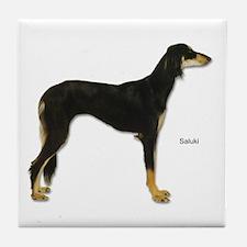 Saluki Dog Tile Coaster