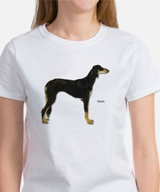 Saluki Dog (Front) Women's T-Shirt