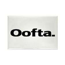 Oofta Rectangle Magnet