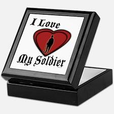 Love My Soldier Keepsake Box
