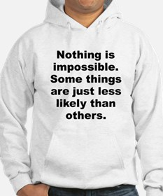 Cool Winters quotation Hoodie