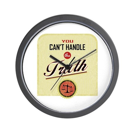 Can't Handle The Truth Wall Clock