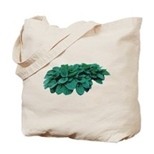 Blue Hosta Tote Bag