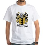 Nicholson Coat of Arms White T-Shirt