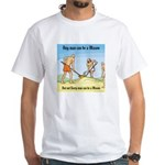 The Ruffians White T-Shirt
