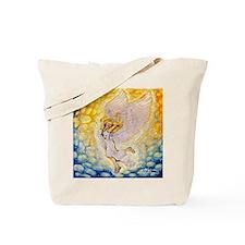 Sweet angel Singing Tote Bag