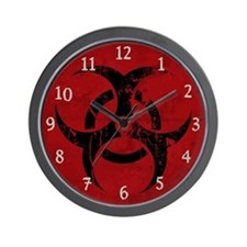 Biohazard (Wall Clock)