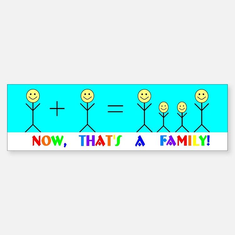 Real Family Bumper Bumper Bumper Sticker