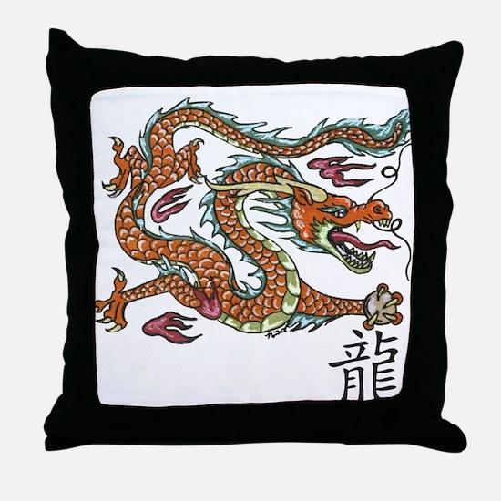 Cute Fantasy art Throw Pillow