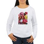 Mucho Phlox Women's Long Sleeve T-Shirt