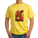 Mucho Phlox Yellow T-Shirt