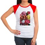 Mucho Phlox Women's Cap Sleeve T-Shirt