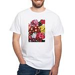 Mucho Phlox White T-Shirt
