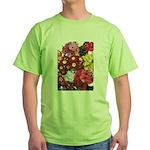 Mucho Phlox Green T-Shirt
