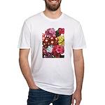 Mucho Phlox Fitted T-Shirt