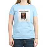 Jesus is coming! Look Busy! Women's Pink T-Shirt