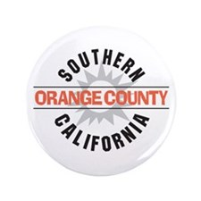"Orange County California 3.5"" Button"