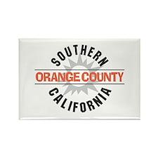 Orange County California Rectangle Magnet